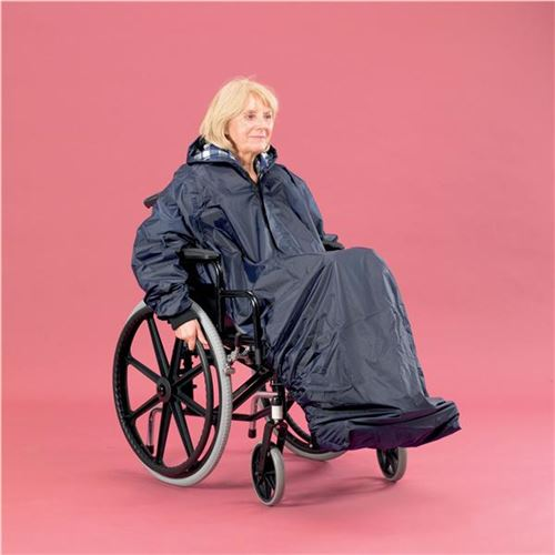 Homecraft-Wheelchair-Mac-with-Sleeves-Un-Lined-Standard-Length-(AA8643)