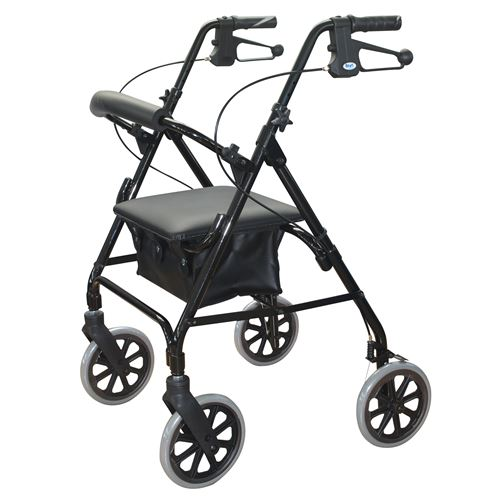 Days-105-Rollator-8-Wheels-Black-(DAYS-105-BLACK)