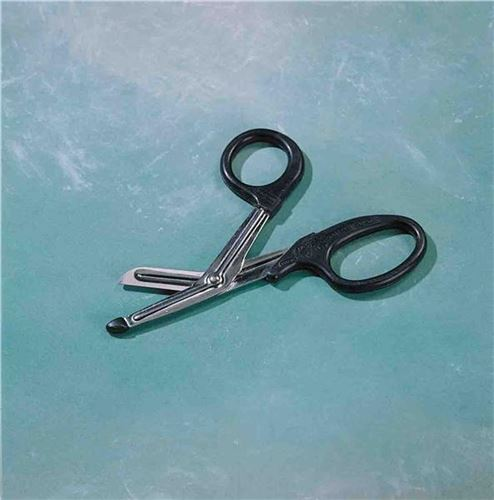 Bandage-Scissors-with-plastic-tip-18cm-Right-Handed-(A37190)