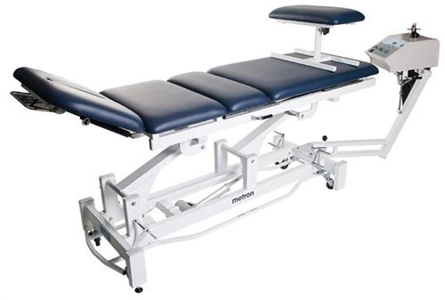 Metron-T8575-Elite-Traction-Table-with-Surround-Bar-60cm-wide-Ocean-Blue-(METETRACOCN)