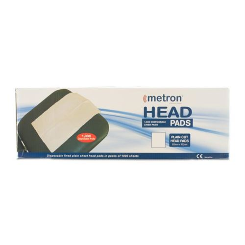 Metron-Head-Piece-Sheets-Plain-1000-Sheets/Box-(METHEADPLAIN)