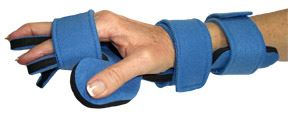 Comfyprene-Hand-Separate-Finger-Orthosis-Adult-Left-Dark-Blue-(LME-HSF-101-CP-A-DB-L)