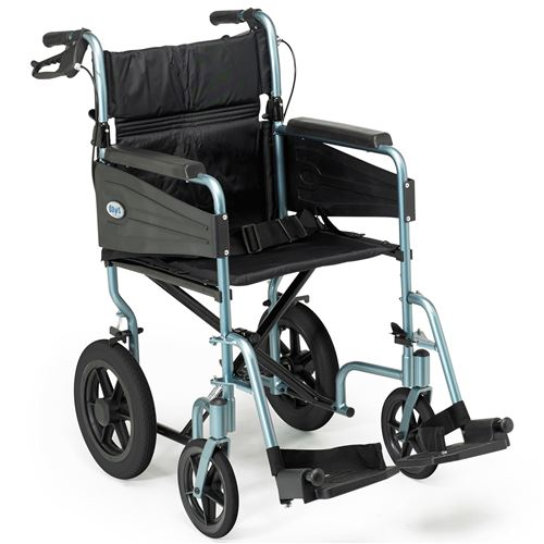 Escape-Wheelchair-Transit-Attendant-Propelled-Standard-Silver-Blue-(PAT-091171727)