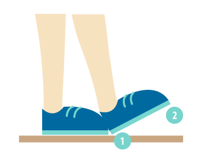 intermediate-heel-toe